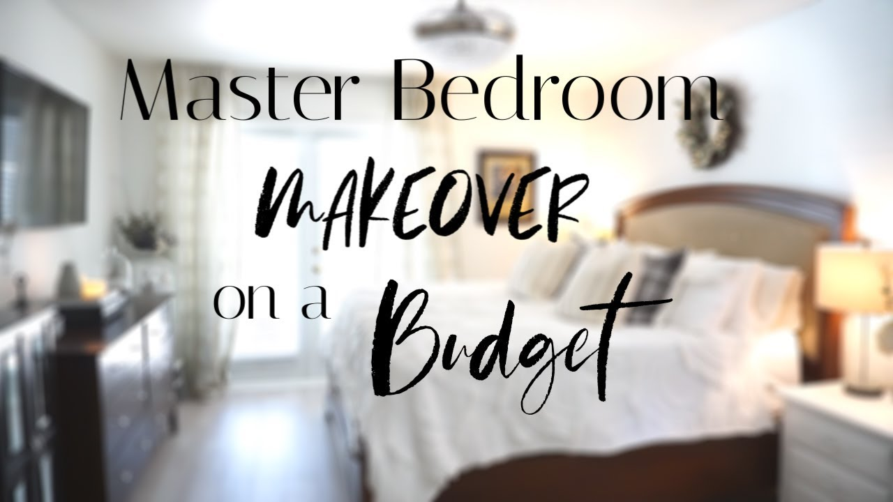 tips to decorate your bedroom on a budget master bedroom makeover with shiplap