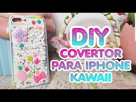 DIY kawaii iphone case cover | DIY covertor kawaii para iphone