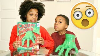 CREEPY HAND CRAWLING GAME!! - Toy Game Challenge - Onyx Adventures