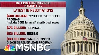Congress To Announce Deal On Latest COVID-19 Relief, Small Business Loan | Andrea Mitchell | MSNBC