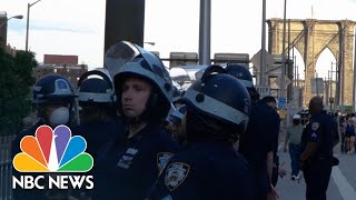 'Blue Lives Matter' Group Says They Want Street Mural In New York City | NBC News NOW