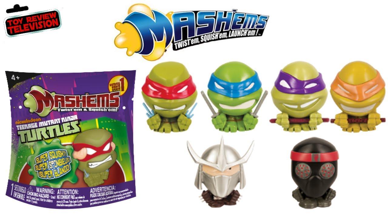 Mashems Teenage Mutant Ninja Turtles Surprise Tmnt Blind