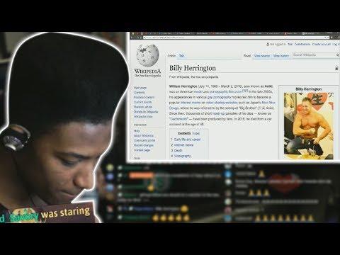 Etika Gives His Condolences For Billy Herrington & Reacts Gachi Memes (NICONICO)
