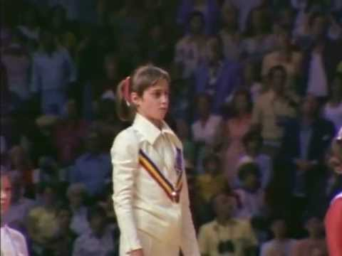 Nadia Comaneci - Olympic Gold (part 2)