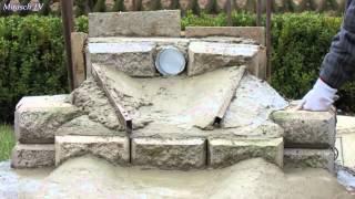 Wasserfall in meinem Garten bauen.Video 2