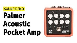 Palmer Pocket Amp Acoustic - Sound Demo (no talking)