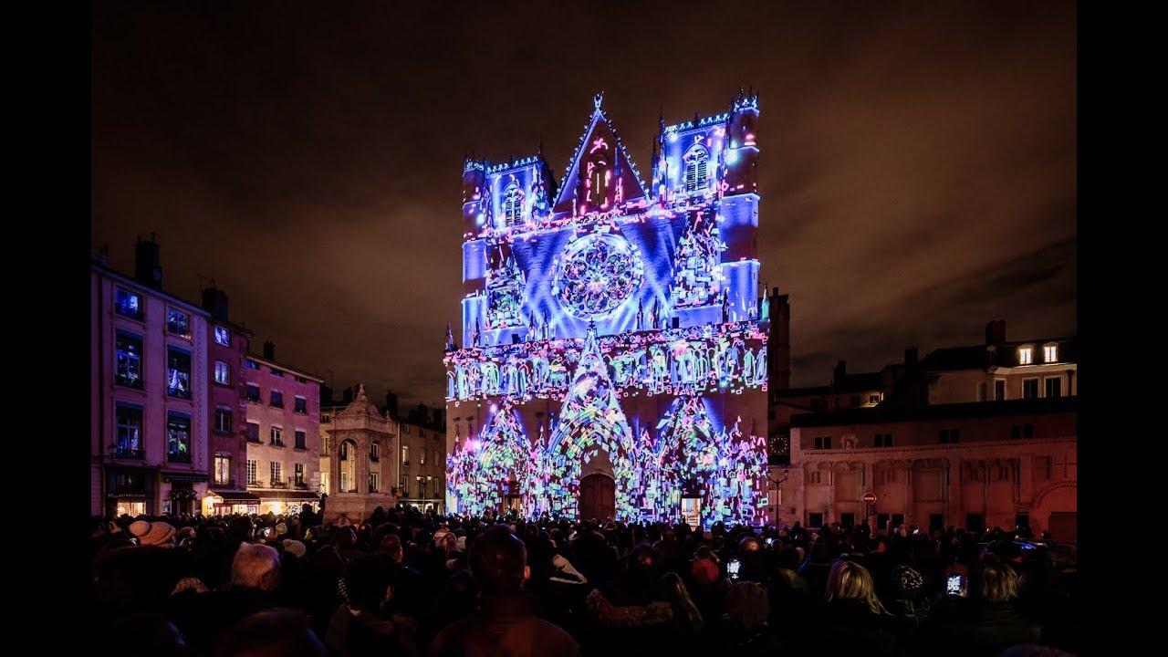La Fête Des Lumières Festival Of Lights Unisson Lyon