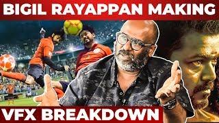 Bigil CG Work, Football Set Costs, Rayappan's Full Look – Art Director Muthuraj Interview | Indian 2