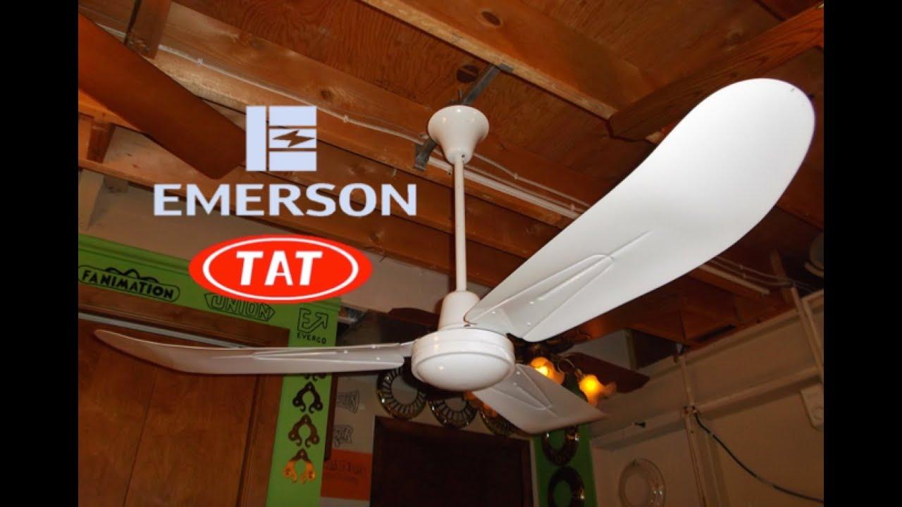 Emerson Tat Industrial Commercial Ceiling Fan Youtube Fans Wiring