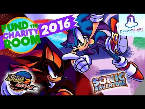 Sonic Adventure vs Sonic Adventure 2 Bid War - Fund The Charity Room