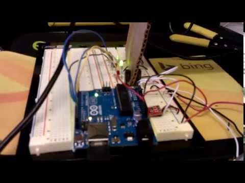 2015 CMU Mechatronics Team E Tin&Tonic Sensor Lab Demo