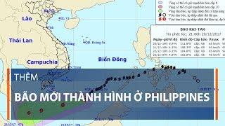 Thêm bão mới thành hình ở Philippines | VTC1