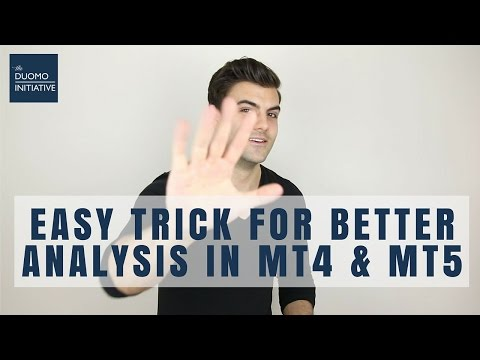 DO BETTER TECHNICAL ANALYSIS - A QUICK TIP IN METATRADER 5 (MT5)
