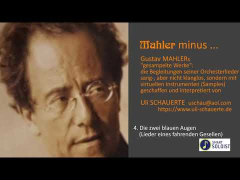 "MAHLER Lieder ""Karaoke"" authentic orchestral playbacks instrumental no singing music minus one"