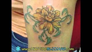 Best Flowers Tattoo Pictures