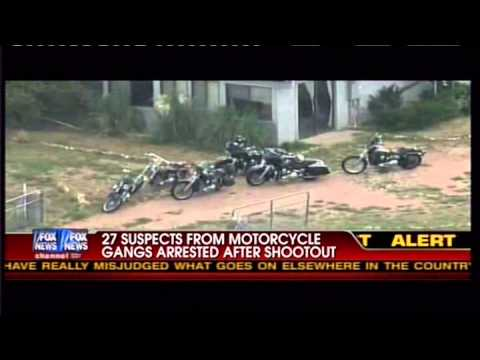 Motorcycle Club shootout in Arizona