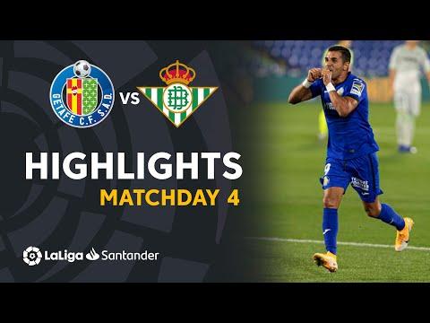 Getafe Betis Goals And Highlights