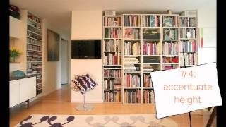Judy Ross: 5 Style Tricks To Open Up Your Small Space - Apartment Therapy Video
