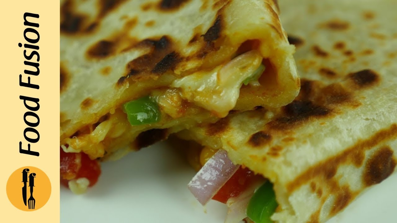 Pizza Paratha Recipe by Food Fusion