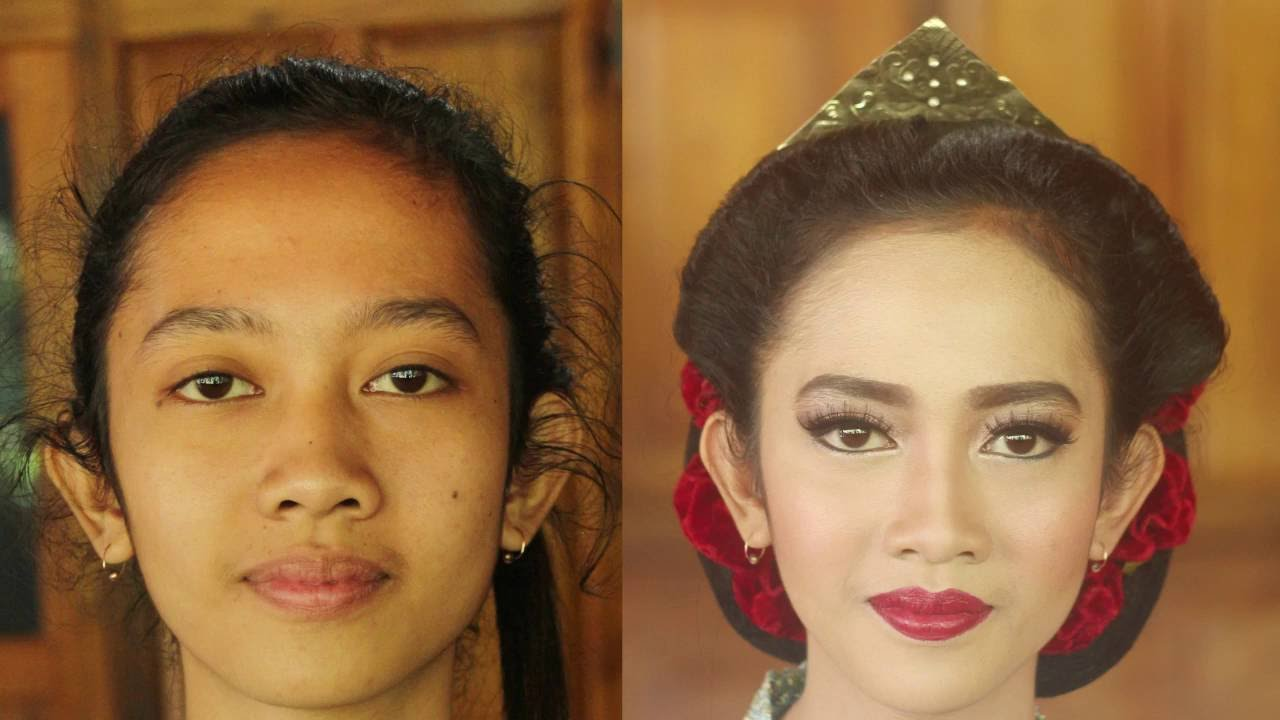 Java Girl Makeup Sanggul Tanpa Sasak Youtube