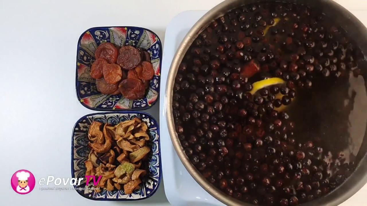 КОМПОТ ИЗ БОЯРЫШНИКА - Рецепт компота из боярки. Как правильно сварить/приготовить компот из боярки?
