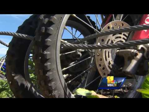 Dirt bikes stolen across Maryland