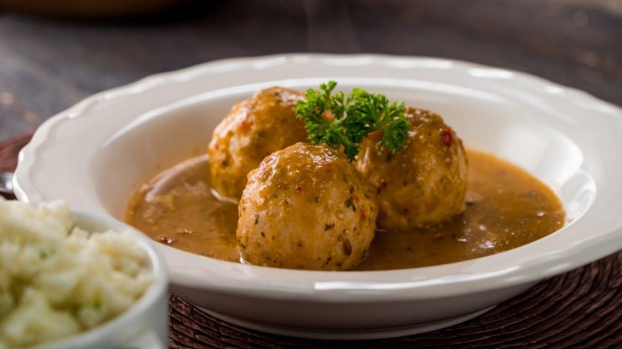 Reto Keto Día 3 Albóndigas De Pollo En Salsa Morita Youtube