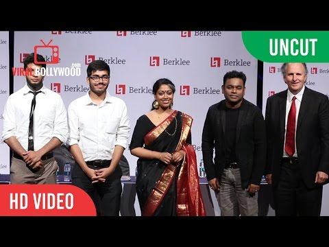 UNCUT - Berklee School of music | A R Rahman Scholarship | Viralbollywood.com
