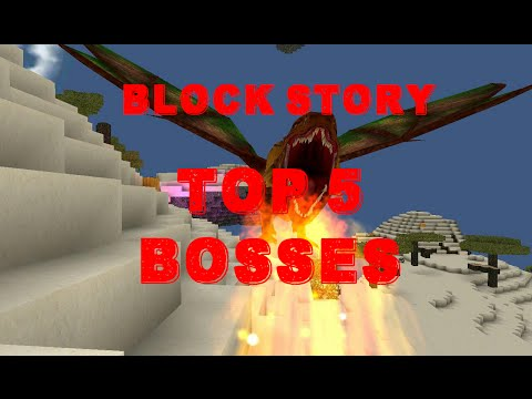 Block Story Top 5 Hardest Bosses (2,000 Subscriber Special)