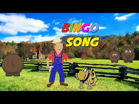 Bingo Song | Free Nursery Rhyme Karaoke with Lyrics