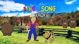 Bingo Song | Free Nursery Rhyme Karaoke with Lyrics