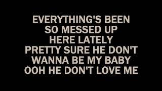 Karaoke(Bebe Rexha💋) i'm a Mess