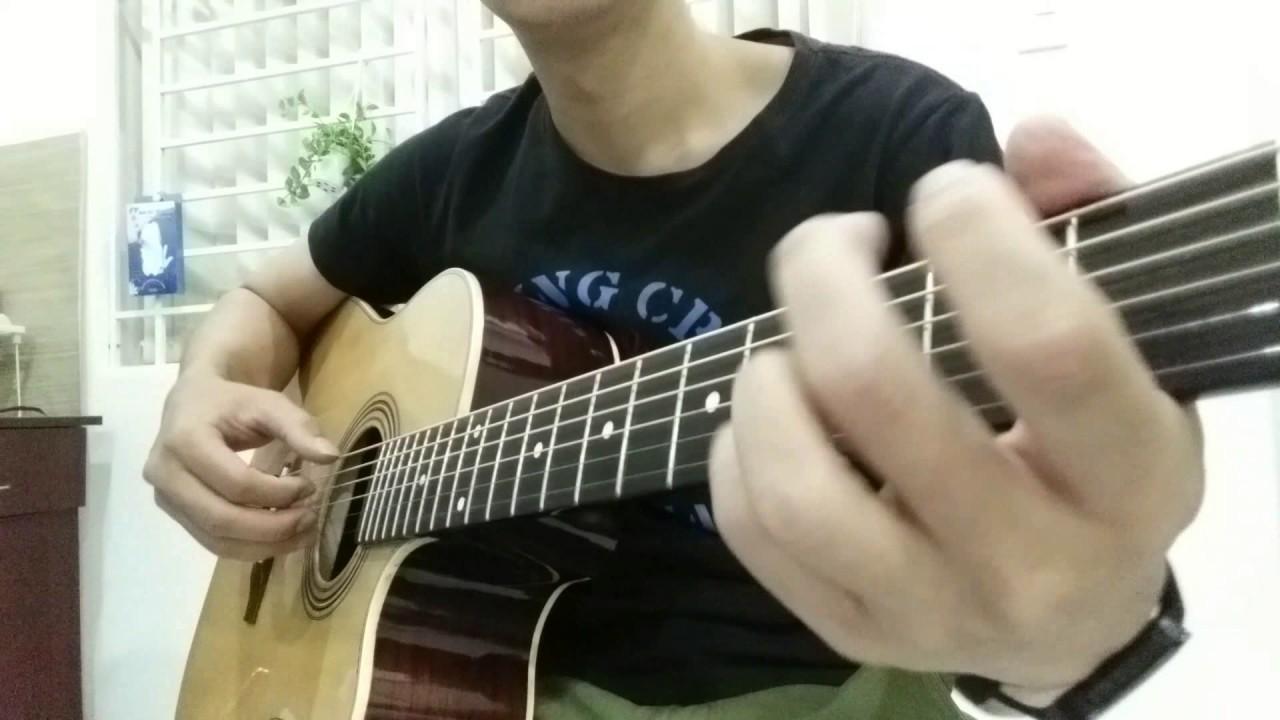 GUITAR TTB – Tháng tư là lời nói dối của em solo guitar