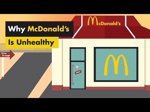 Why McDonald's Is Unhealthy