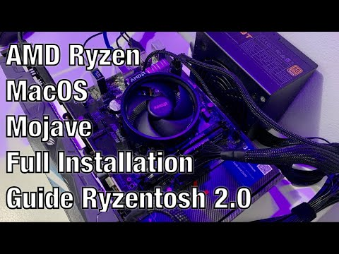 AMD Ryzen MacOS Mojave Full Installation Guide Part 2 (Ryzentosh 2 0)