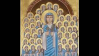 تمجيد القديسه دميانةtamgeed Saint Demyana