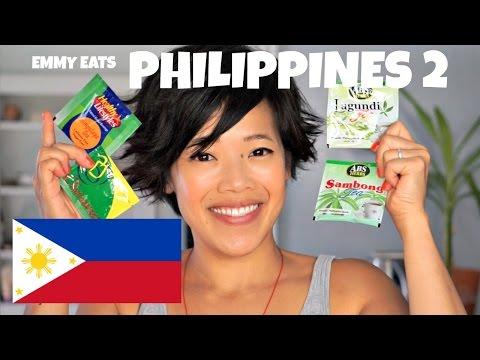 Emmy Eats the Philippines 2 - an American tasting Filipino treats