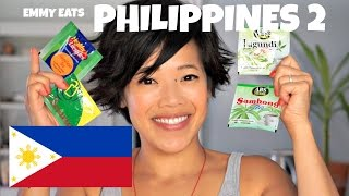 Emmy Eats the Philippines 2 - an American tasting Filipino treats