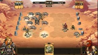First Look At Scrolls - 5: Ai & Player Match - Peadee Games - Mojang Scrolls Game - Let's Play
