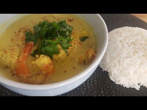 S1 Ep20: Curry de lotte et crevettes au lait de coco