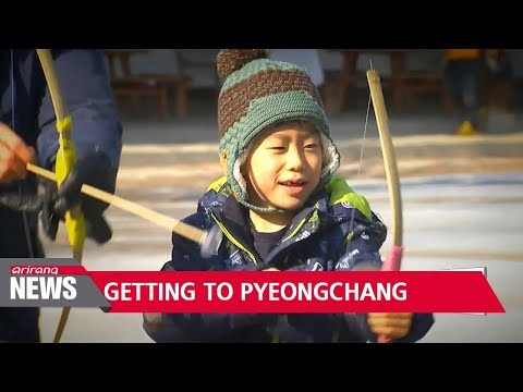 Reaching sports destinations for 2018 PyeongChang Winter Olympics
