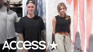 justin bieber hailey baldwin caught making out in nyc access