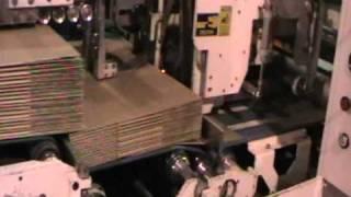 Делаем коробочку на TCY 9PA-FG(Гофрокороб с печатью, делается на линии TCY (Тайвань). Берем листы гофрокартона, получаем готовую гофротару..., 2011-04-29T06:24:49.000Z)