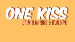 Calvin Harris & Dua Lipa  - One Kiss | MOTION GRAPHIC LYRIC VIDEO