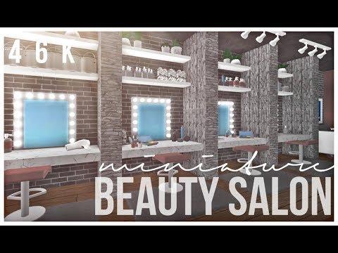 Bloxburg: Mini Beauty Salon 46K