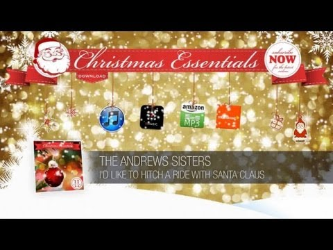 Chords For The Andrews Sisters Id Like To Hitch A Ride With Santa