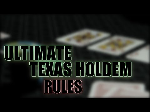 How to Play Ultimate Texas Holdem from the Casino Experts
