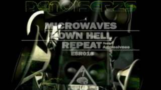 ELEKTROSHOK RECORDS: ESR018 - DENOISERZ - MICROWAVES / DOWN HELL / REPEAT with AGGRESIVNES