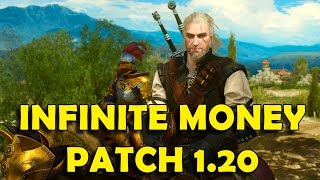 The Witcher 3 - Patch 1.20 (Blood and Wine) Infinite Money & Crafting Materials Exploit / Glitch