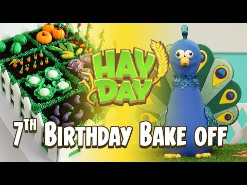 Hay Day 7th Birthday Bake Off!